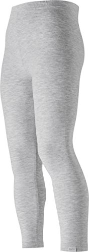 Playshoes Mädchen lang Legging, Grau (grau/melange 37), (Herstellergröße: 86)