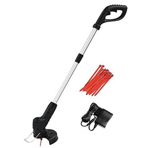 Inalámbrico Strimmer eléctrico retráctil eléctrico sin cuerda del cortador de hierba Segadora...