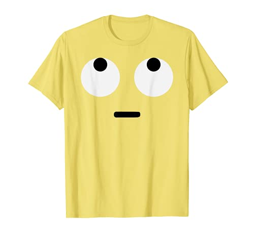 Rolling Eyes Face Eye Roll Emojis Emoticon Halloween Costume T-Shirt