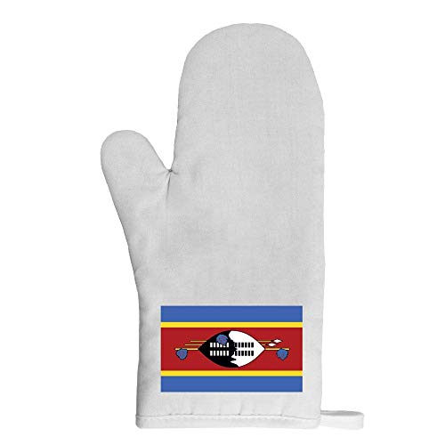 Mygoodprice Ofenhandschuh Topflappen Flagge Swasiland