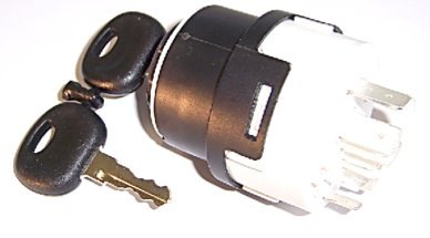 Zünschloss, Zündschalter, Startschalter KM 10 11 0054 inklusive 2 Schlüssel Typ A 14603 KM 10 11 0008 für Claas / Renaultnr.: 77 000 42420