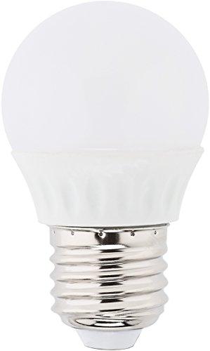 MÜLLER-LICHT LED Lampe Tropfenform Essentials ersetzt 25 W, Plastik, E27, 3 W, weiß, 1er