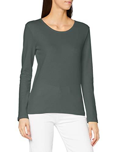 Cecil Damen Style Pia T-Shirt, Soft Khaki, XL