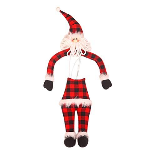 Yeyll - Figura decorativa de elfos de Navidad, diseño de elfos para niños y niñas, diseño de elfos de peluche, ideal como regalo
