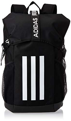 adidas FJ4441 4ATHLTS BP Sports backpack unisex-adult black/black/white NS