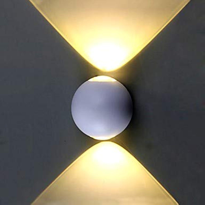 VLING Wandlampe, Mini Style Wasserdicht Einfach Modern Modern Wandleuchten & Wandlampen Badezimmer Beleuchtung Wohnzimmer Schlafzimmer Esszimmer, Warmwei