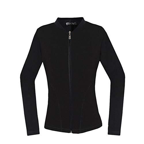 Bulary Tuta Calda Termica per Donna Termica elettrica Plus. Camicia da Giacca in Velluto