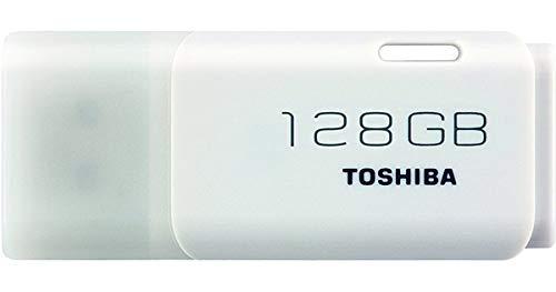 Toshiba THN-U301W1280E4 - Memoria USB 3.0 (128 GB) Color Blanco