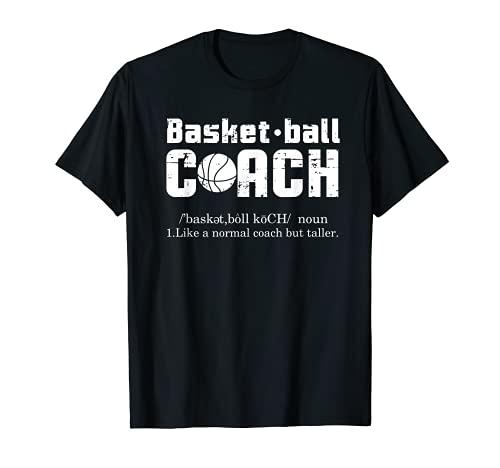 Basketball Coach Definition Shirt Funny Men Women Coach Camiseta