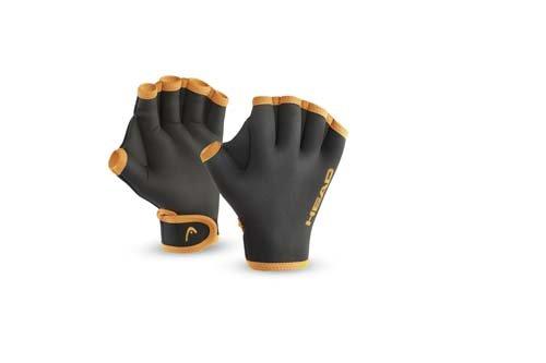 HEAD Erwachsene Schwimmhandschuhe Swim Glove, Black, XL