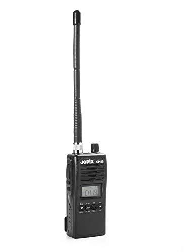 Jopix CB-413 - Walkie-Talkie Profesional, Color Negro