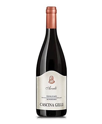 Vino Rosso Arvele FREISA D'ASTI SUPERIORE Doc (conf. 6x 0.75l) Cascina Gilli -pv