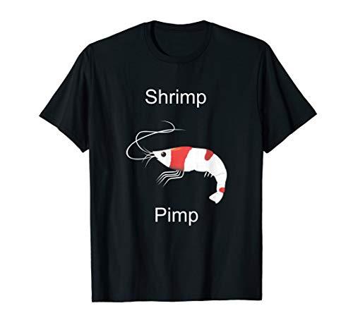 Crystal Red Shrimp Breeder Shrimp Pimp CRS T-Shirt