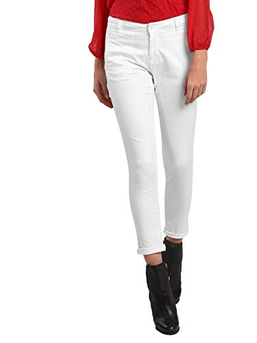Hey! by FBB Ankle Length Cigarette Pants White
