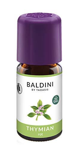 Baldini Thymian rot BIO, 100% naturreines ätherisches Bio Thymian Öl, 5 ml