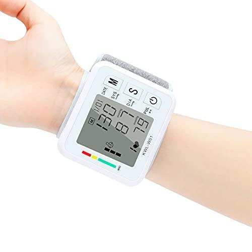 SXTYMV TensióMetro de Brazo Monitor de PresióN Arterial ElectróNico Tipo MuñEca Inteligente AutomáTico para El Hogar Sin Medidor de PresióN Arterial EsfigmomanóMetro de Voz