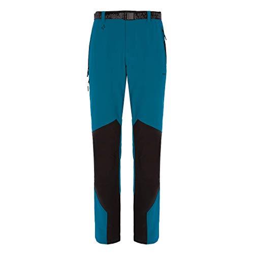 Trangoworld Tineo Pant. Long, Homme XL Multicolore - Bleu, Noir (Azul Profundo/Negro)