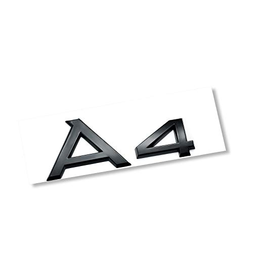 AUTO-P automotive ABS plating logo for A4 conversion (A4 Bright black)