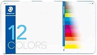 ステッドラー ノリスクラブ色鉛筆 メタルケース入り12色セット 145 M12-2