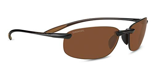 Serengeti Gafas de sol, NUVOLA, SHINY BROWN, PHD 2.0 POLARIZED DRIVERS