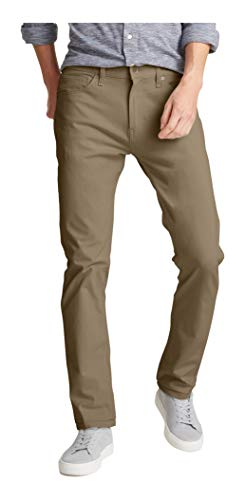 Dockers Men's Slim Fit-Jean Cut with Smart 360 Flex Pants, New British Khaki -Beige, 34Wx30L