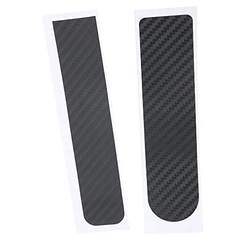 SHYEKYO Pegatina Reflectante para Scooter, Material de PVC de Fibra de Carbono Película Protectora de Fibra de Carbono para Scooter Impermeable y más fácil de Pegar para M365 / Pro