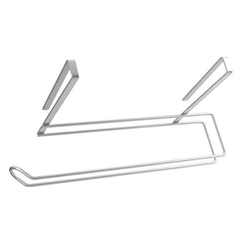Metaltex Colgador de Rollo Cocina, Polytherm, Gris, 35x18x10 cm