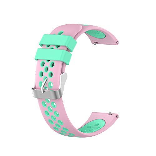 CMYYFA Correa de reloj de pulsera de 22 mm para Huami Amazfit GTR 47 mm Smartwatch Reemplazo Correa para Huawei Honor Magic Watch 2 46 mm Correa para Samsung Galaxy Watch 46 mm
