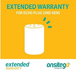 Onsitego 1 Year Extended Warranty for Echo Plus (2nd Gen) (Email Delivery)