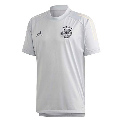 adidas Herren DFB TR JSY T-Shirt, Clear Grey, L