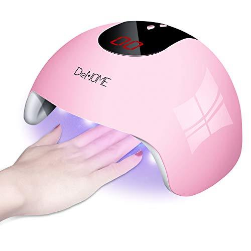 DeNOME Lámpara LED UV Uñas Profesional Maquillaje Uñas/