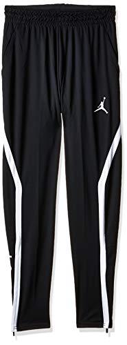 Nike M J 23Alpha Dry Pant Pantalon de Sport Homme Black/White/(White) FR: L (Taille Fabricant: L)