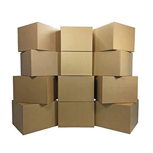 Amazon Basics Moving Boxes - Large, 20'x20'x15'/12 pack
