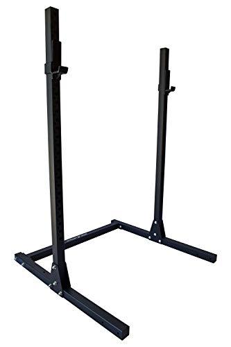 STRONG GAINS SR1.1 Squat Rack, Kniebeugenständer, Hantelständer, Hantelablage (ohne 50 cm Savety Arms)