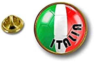 Spilla Pin pin's Spille spilletta Giacca Bandiera Badge Pallone Calcio Italia