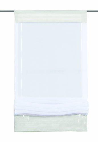 Home fashion 57105-801 rolgordijn, Univoile, 140 x 60 cm, wit