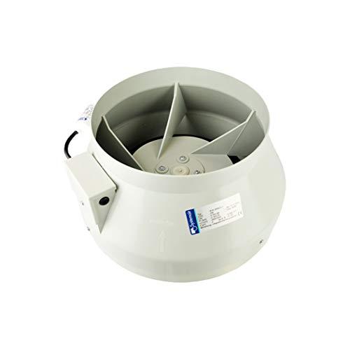 Systemair RVK L1 de 25,4 cm (250 mm) ventilateur Conduit en ligne (1000 m3/H) hydroponie