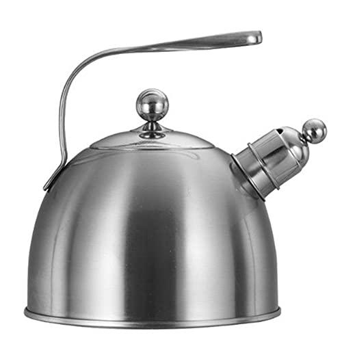 Tetera De Acero Inoxidable Botella De Gas Gruesa Silbato Multifunción Hervidor De Cocina Exterior 2.3L