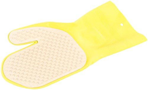 PEARL Katzenhandschuh: Handschuh mit Bürste für Tierfell-Reinigung, rechtshändig (Tierbürste)