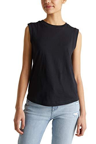 edc by Esprit 040cc1k315 T-Shirt, 001/Black, XS Donna