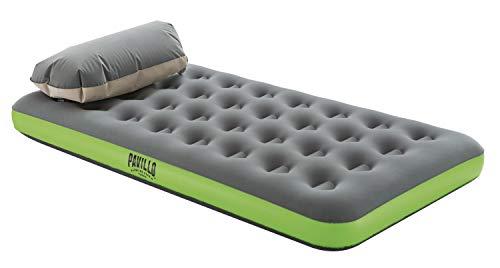 Pavillo Roll und Relax Einzelbett, Luftbett mit Kissen-/Kompressionspumpe, 188x99x22 cm