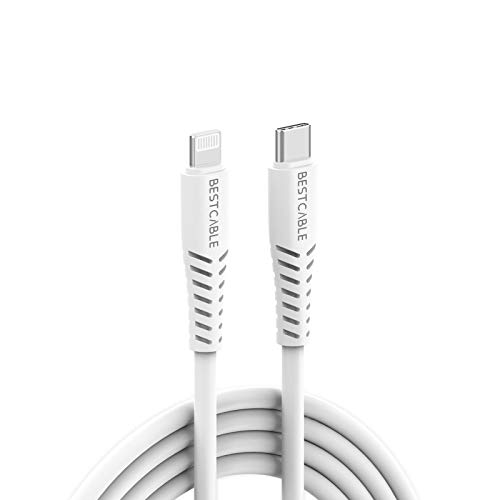 BEST CABLE USB C to Lightning Charger Cable[ Apple C94 MFi Certified]18W PD Compatible with iPad 8th 2020, iPhone 11/11 Pro/11 Pro Max X XS XR XS Max 8 8Plus iPad Pro and More(Support Power Delivery)