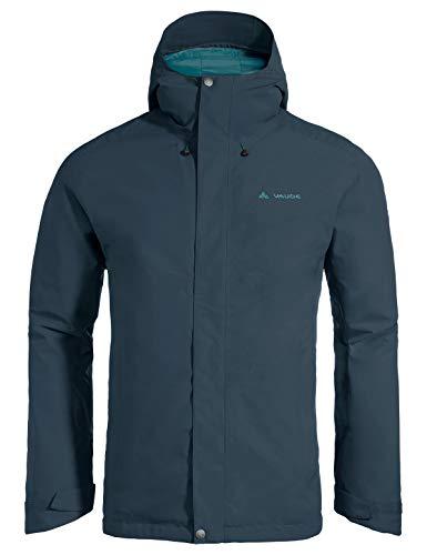 VAUDE Herren Men's Rosemoor Padded Jacket Jacke, Steelblue, L