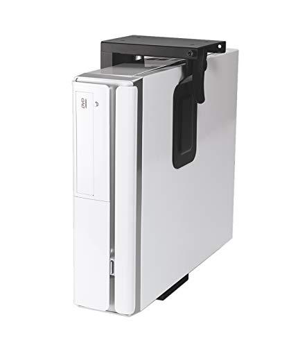 Value Mini PC Halter schwarz | platzsparende Mini PC Halterung für kleine Office Rechner