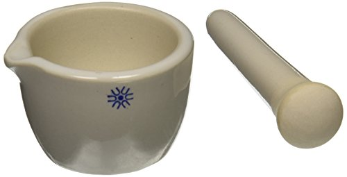 United Scientific Supplies JMD050 Mortar and Pestle, Deep Form, 50 ml
