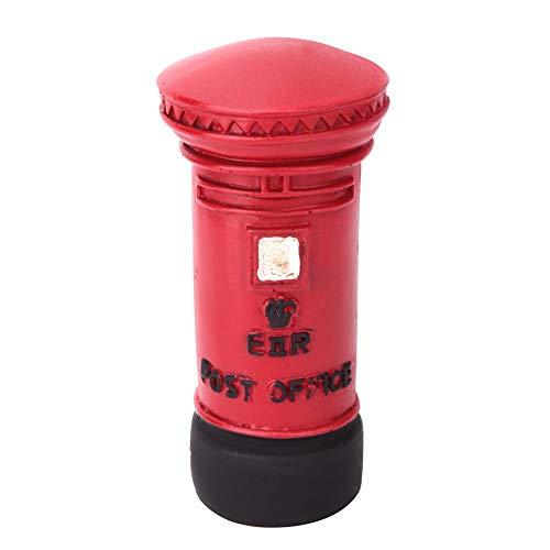 Telefonzelle Schreibtisch Dekoration, Retro London Telefonzelle Briefkasten Dekoration für Schlafzimmer Studenten Schlafsaal zu Hause(Briefkasten)