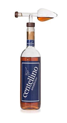 Centellino Areadivino vino aeratore e decanter per brandy e whisky 35 ml.
