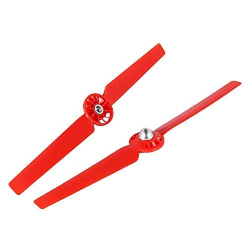2/4 / 8PCS Yuneoec Q500 HIPETERS Blades CW CCW Auto-apriete los Accesorios Auto-Bloqueo Relación rápida Yuneec Typhoon Drone Accesorie (Bundle : Bundle 2, Color : Red)