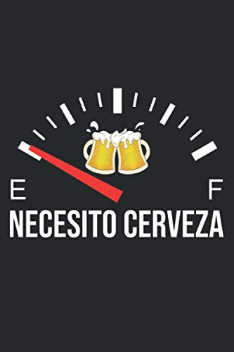 Necesito Cerveza: Notebook For Cinco De Mayo 2021 / College Ruled / Journal / Diary Gift / Gifts For Her And Him