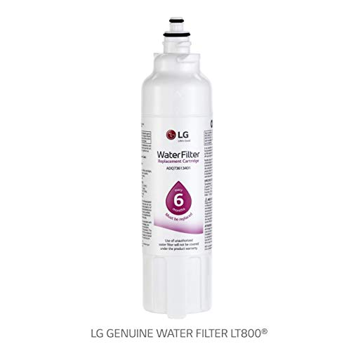 LG LT800P- 6 month / 200 Gallon Capacity Replacement Refrigerator Water Filter (NSF42 and NSF53 ADQ73613401, ADQ73613408, or ADQ75795104